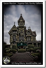 Carson Mansion - Ingomar Club, Eureka, California