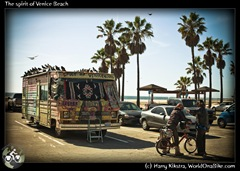 The spirit of Venice Beach