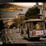 Alcatraz and a streetcar: SF