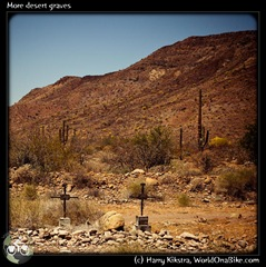 More desert graves