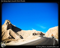 last dusty slopes towards Santa Rosalia