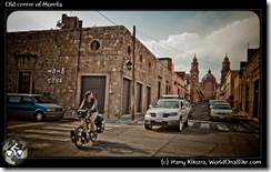 Old centre of Morelia