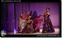 Dance performance, Cancun (4)