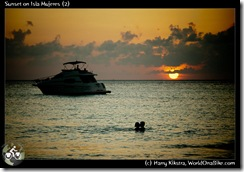 Sunset on Isla Mujeres (2)